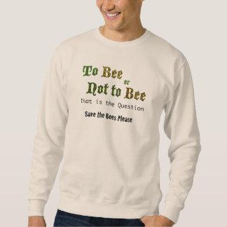 への蜂またはない蜂の人のワイシャツ スウェットシャツ