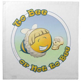 への蜂またはない蜂 ナプキンクロス