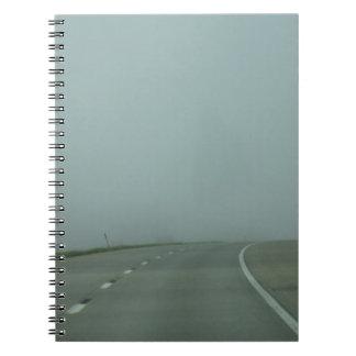 への道ところ ノートブック
