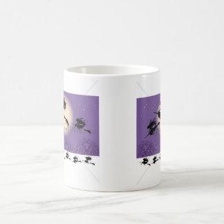 ほうきの魔法使い コーヒーマグカップ