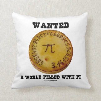 ほしいと思いましたPi (Piパイ数学のユーモア)で満ちていた世界が クッション