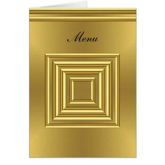 ほとんどの人気があるな結婚式メニュー金ゴールド カード