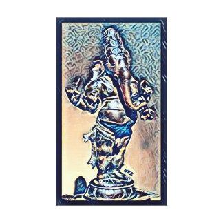 ほとんどの人気があるなGaneshaアクリルホイルの芸術 キャンバスプリント