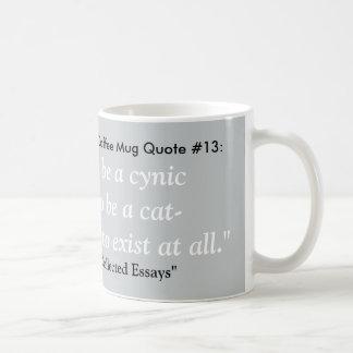 ほとんどの憂鬱なコーヒー・マグの引用文#13 コーヒーマグカップ