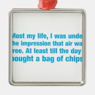 ほとんどの私の生命私は印象の下にその空気でした。 メタルオーナメント