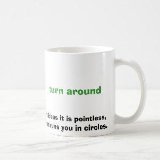 ほとんどの管理アイディアのようにそれは無意味、です コーヒーマグカップ