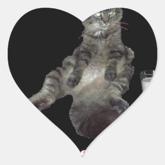 ほとんどの興味深い猫#1.jpg ハートシール