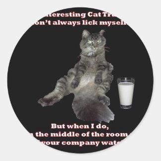 ほとんどの興味深い猫#3.jpg ラウンドシール