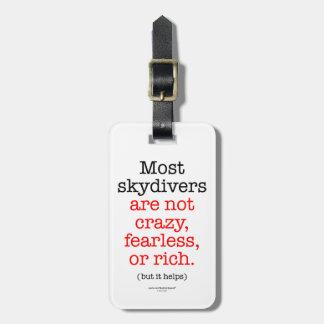 ほとんどのSkydivers ラゲッジタグ