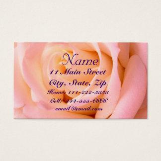 ほとんどピンクのプロフィールカード 名刺