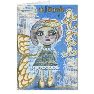 """ほとんど天使の挨拶状- """"リサ"""" カード"""