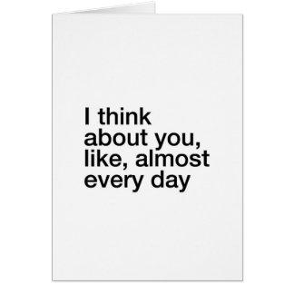 ほとんど毎日 カード