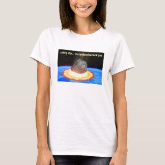 ほぼ地球の小惑星 Tシャツ