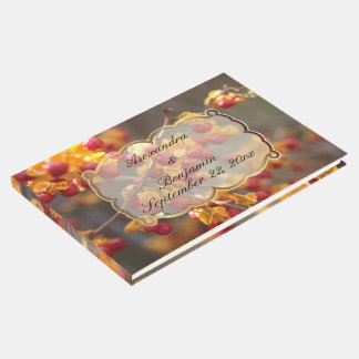 ほろ苦い果実の秋の来客名簿 ゲストブック