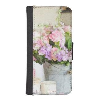 ぼろぼろの花の歓喜 iPhoneSE/5/5sウォレットケース