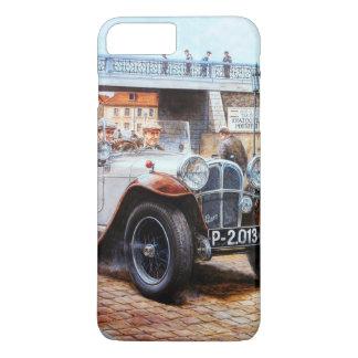 ぼろ自動車のレースカーの絵画 iPhone 8 PLUS/7 PLUSケース