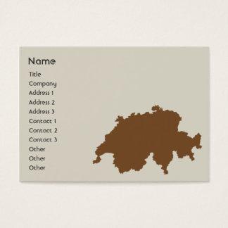 ぽっちゃりしたスイス連邦共和国- 名刺