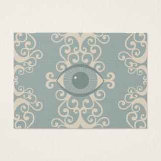 ぽっちゃりしたダマスク織の眼球の霊魂の帯出券 名刺