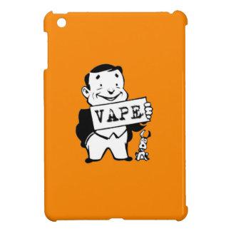 ぽっちゃりしたレトロの人のVapeの蛍光オレンジ iPad Mini カバー