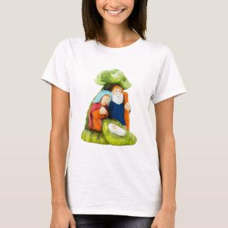 まぐさ桶の女性のTシャツ Tシャツ