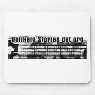まずない物語の印Vのロゴ マウスパッド