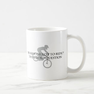 またはない乗車Mtに乗るため。 自転車に乗ること コーヒーマグカップ