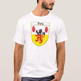 または家紋Dalyの紋章付き外衣 Tシャツ