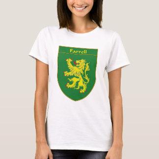 または家紋Farrellの紋章付き外衣 Tシャツ