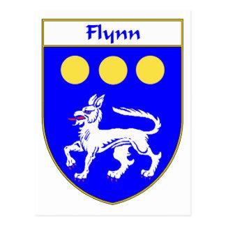 または家紋Flynnの紋章付き外衣 ポストカード