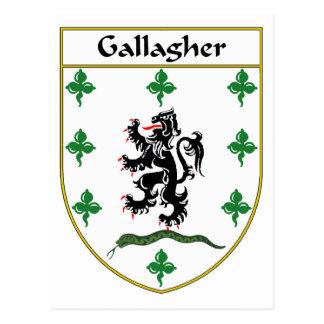 または家紋Gallagherの紋章付き外衣 ポストカード