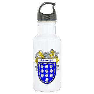 または家紋Montoyaの紋章付き外衣 ウォーターボトル