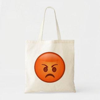 または気違いのEmoji怒って下さい トートバッグ