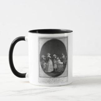 または祝う祖母花束 マグカップ