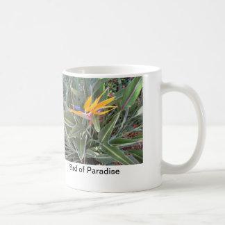 または花または植物の園芸マグか極楽鳥 コーヒーマグカップ