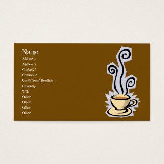 または茶名刺コーヒー 名刺