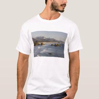 または、オレゴンの海岸、Ecolaの州立公園、2の眺め Tシャツ