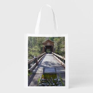 または、ジャクソン郡のMcKeeの屋根付橋 エコバッグ