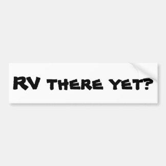 まだそこのRVか。 キャンピングカー バンパーステッカー