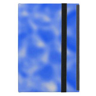 まだらにされる青および白 iPad MINI ケース