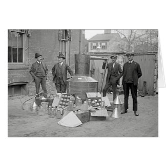 まだ密造酒の禁止の代理店、1922年 カード