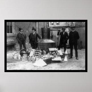 まだ密造酒IRS 1922年 ポスター