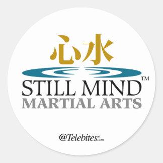まだ心の軍Arts™のロゴのステッカー ラウンドシール