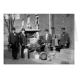 まだ没収されるの警察、1922年 グリーティングカード