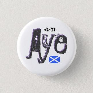 まだ独立賛成Saltireのスコットランドのバッジ 3.2cm 丸型バッジ