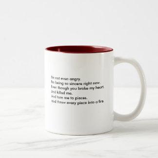 まだ生きた… Ish. ツートーンマグカップ