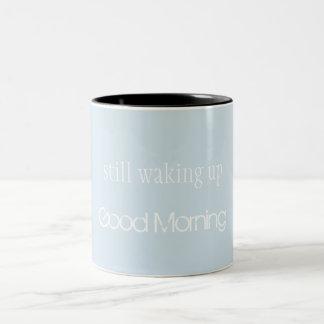 まだ目覚めます ツートーンマグカップ
