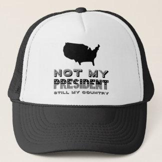 まだ私の国ない私のアメリカ大統領の黒 キャップ