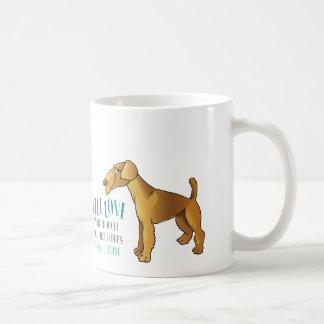 まだ私のAiredaleテリアv2を愛して下さい コーヒーマグカップ