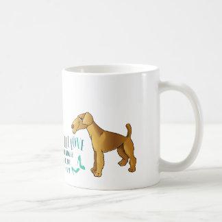 まだ私のAiredaleテリアv3を愛して下さい コーヒーマグカップ
