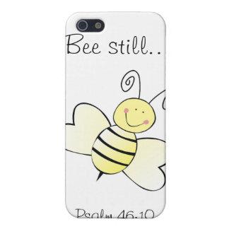 まだ蜂の…賛美歌の46:10 - Iの電話4箱 iPhone 5 カバー